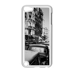 Vintage Paris Street Apple Ipod Touch 5 Case (white) by bloomingvinedesign