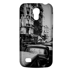 Vintage Paris Street Samsung Galaxy S4 Mini (gt I9190) Hardshell Case  by bloomingvinedesign