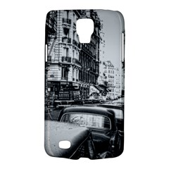 Vintage Paris Street Samsung Galaxy S4 Active (i9295) Hardshell Case by bloomingvinedesign