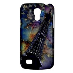 Vintage Eiffel Tower Abstract Samsung Galaxy S4 Mini (gt I9190) Hardshell Case  by bloomingvinedesign