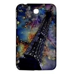 Vintage Eiffel Tower Abstract Samsung Galaxy Tab 3 (7 ) P3200 Hardshell Case  by bloomingvinedesign