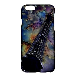 Vintage Eiffel Tower Abstract Apple Iphone 6 Plus Hardshell Case by bloomingvinedesign