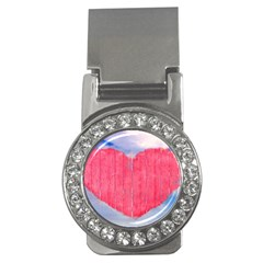 Pop Art Style Love Concept Money Clip (CZ) by dflcprints
