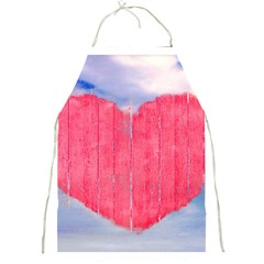 Pop Art Style Love Concept Apron by dflcprints