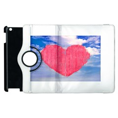 Pop Art Style Love Concept Apple Ipad 2 Flip 360 Case by dflcprints