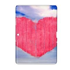 Pop Art Style Love Concept Samsung Galaxy Tab 2 (10 1 ) P5100 Hardshell Case  by dflcprints