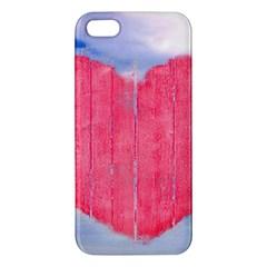 Pop Art Style Love Concept Iphone 5s Premium Hardshell Case by dflcprints