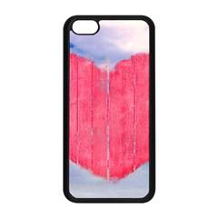 Pop Art Style Love Concept Apple Iphone 5c Seamless Case (black) by dflcprints