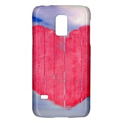 Pop Art Style Love Concept Samsung Galaxy S5 Mini Hardshell Case  by dflcprints
