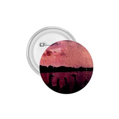 7 Geese At Sunset 1 75  Button by bloomingvinedesign