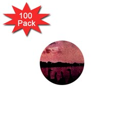 7 Geese At Sunset 1  Mini Button (100 Pack) by bloomingvinedesign