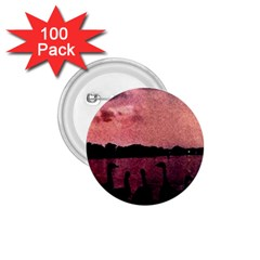 7 Geese At Sunset 1 75  Button (100 Pack) by bloomingvinedesign