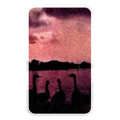 7 Geese At Sunset Memory Card Reader (rectangular) by bloomingvinedesign