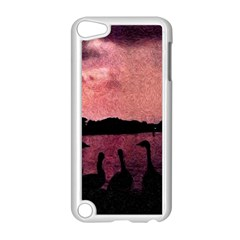 7 Geese At Sunset Apple Ipod Touch 5 Case (white) by bloomingvinedesign
