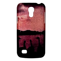 7 Geese At Sunset Samsung Galaxy S4 Mini (gt I9190) Hardshell Case  by bloomingvinedesign