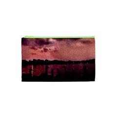 7 Geese At Sunset Cosmetic Bag (xs) by bloomingvinedesign