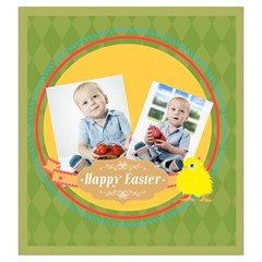 Easter By Easter   Drawstring Pouch (large)   Wet7x4c0w7a1   Www Artscow Com Front