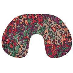 Color Mix Travel Neck Pillow