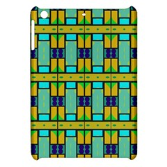 Different Shapes Pattern Apple Ipad Mini Hardshell Case by LalyLauraFLM