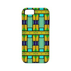Different Shapes Pattern Apple Iphone 5 Classic Hardshell Case (pc+silicone) by LalyLauraFLM