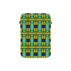 Different Shapes Pattern Apple Ipad Mini Protective Soft Case by LalyLauraFLM