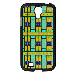 Different Shapes Pattern Samsung Galaxy S4 I9500/ I9505 Case (black) by LalyLauraFLM