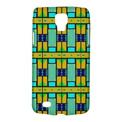 Different Shapes Pattern Samsung Galaxy S4 Active (i9295) Hardshell Case by LalyLauraFLM