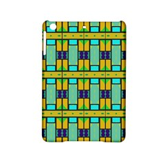 Different Shapes Pattern Apple Ipad Mini 2 Hardshell Case by LalyLauraFLM