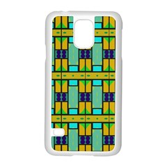 Different Shapes Pattern Samsung Galaxy S5 Case (white) by LalyLauraFLM