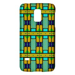 Different Shapes Pattern Samsung Galaxy S5 Mini Hardshell Case  by LalyLauraFLM