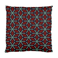 Cubes Pattern Abstract Design Standard Cushion Case (two Sides) by LalyLauraFLM