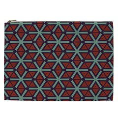Cubes Pattern Abstract Design Cosmetic Bag (xxl) by LalyLauraFLM