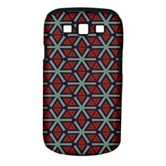 Cubes Pattern Abstract Design Samsung Galaxy S Iii Classic Hardshell Case (pc+silicone) by LalyLauraFLM