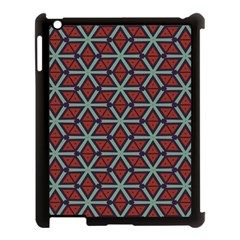 Cubes Pattern Abstract Design Apple Ipad 3/4 Case (black) by LalyLauraFLM