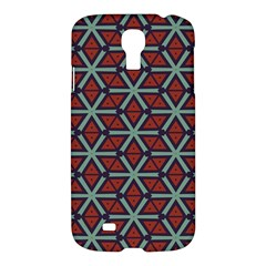 Cubes Pattern Abstract Design Samsung Galaxy S4 I9500/i9505 Hardshell Case by LalyLauraFLM