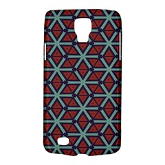 Cubes Pattern Abstract Design Samsung Galaxy S4 Active (i9295) Hardshell Case by LalyLauraFLM