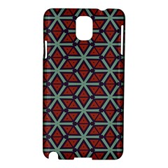 Cubes Pattern Abstract Design Samsung Galaxy Note 3 N9005 Hardshell Case by LalyLauraFLM