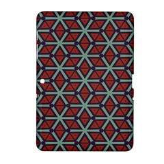 Cubes Pattern Abstract Design Samsung Galaxy Tab 2 (10 1 ) P5100 Hardshell Case  by LalyLauraFLM