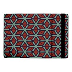 Cubes Pattern Abstract Design Samsung Galaxy Tab Pro 10 1  Flip Case by LalyLauraFLM