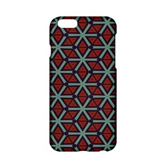Cubes Pattern Abstract Design Apple Iphone 6 Hardshell Case by LalyLauraFLM