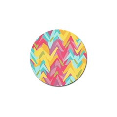 Paint Strokes Abstract Design Golf Ball Marker (4 Pack) by LalyLauraFLM