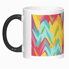 Paint Strokes Abstract Design Morph Mug by LalyLauraFLM