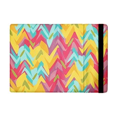 Paint Strokes Abstract Design Apple Ipad Mini Flip Case by LalyLauraFLM