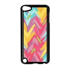 Paint Strokes Abstract Design Apple Ipod Touch 5 Case (black) by LalyLauraFLM
