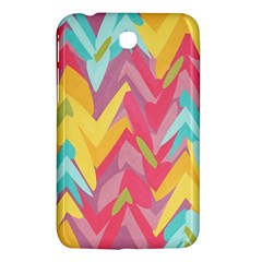 Paint Strokes Abstract Design Samsung Galaxy Tab 3 (7 ) P3200 Hardshell Case  by LalyLauraFLM