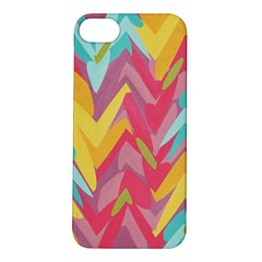 Paint Strokes Abstract Design Apple Iphone 5s Hardshell Case by LalyLauraFLM