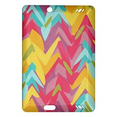 Paint Strokes Abstract Design Kindle Fire Hd (2013) Hardshell Case by LalyLauraFLM