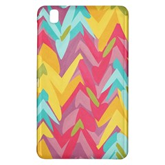 Paint Strokes Abstract Design Samsung Galaxy Tab Pro 8 4 Hardshell Case by LalyLauraFLM