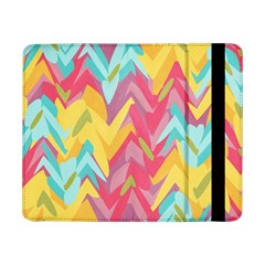 Paint Strokes Abstract Design Samsung Galaxy Tab Pro 8 4  Flip Case by LalyLauraFLM