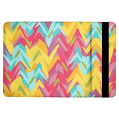 Paint Strokes Abstract Design Apple Ipad Air Flip Case by LalyLauraFLM